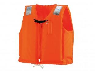 「桜マーク」つきのライフジャケット
