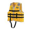 Jr-1M-Yellow_s、イエロー、小児用ライフジャケット